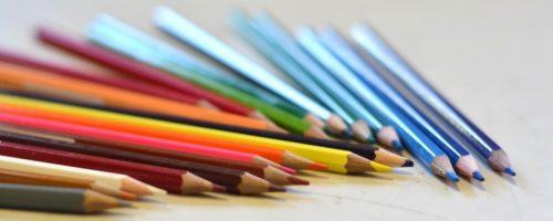 crayons toutes les couleurs