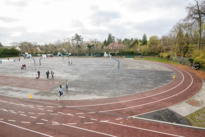 photo du terrain de sport