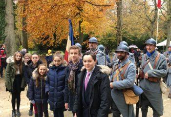 11 novembre 2017 - Carrefour de l'Armistice - Rethondes