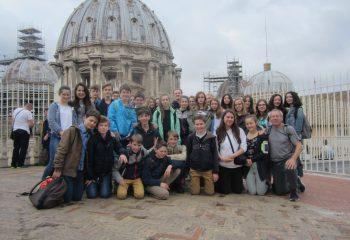 Sur les toits de la basilique Saint Pierre